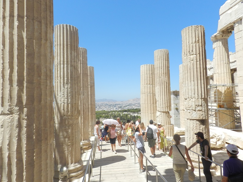 Antiquities Sightseeing - Authentic Experience Sailing in Greece
