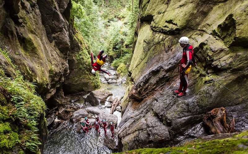 Canyoning - Authentic Experience Sailing in Greece