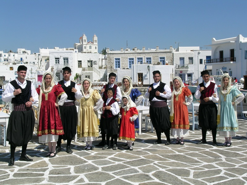 Folklore Dancing - Authentic Experience Sailing in Greece