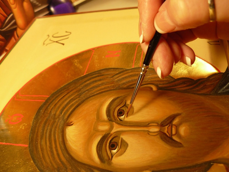 Religious painting - Authentic Experience Sailing in Greece