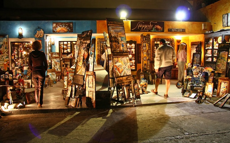 Shopping - Authentic Experience Sailing in Greece