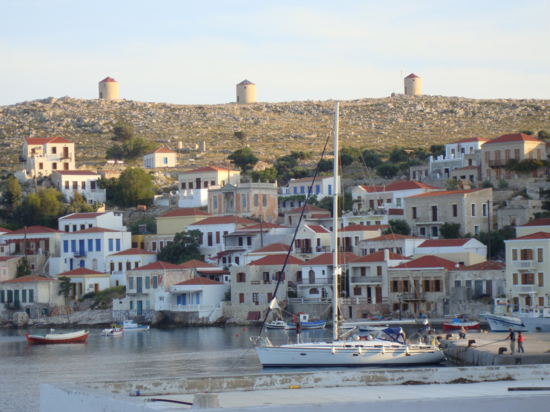 Sailing holidays in Chalki