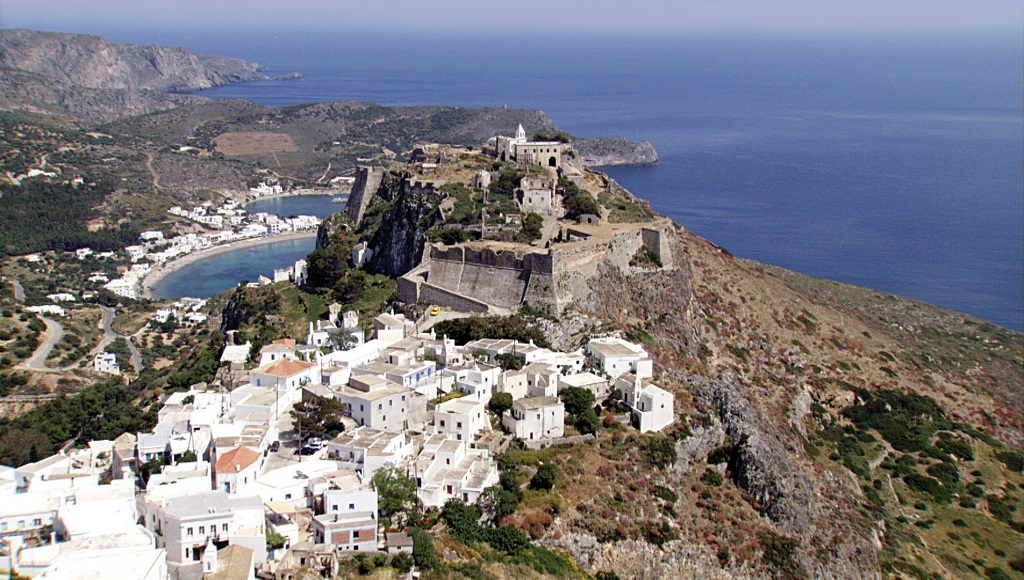 Sailing holidays in Cythera