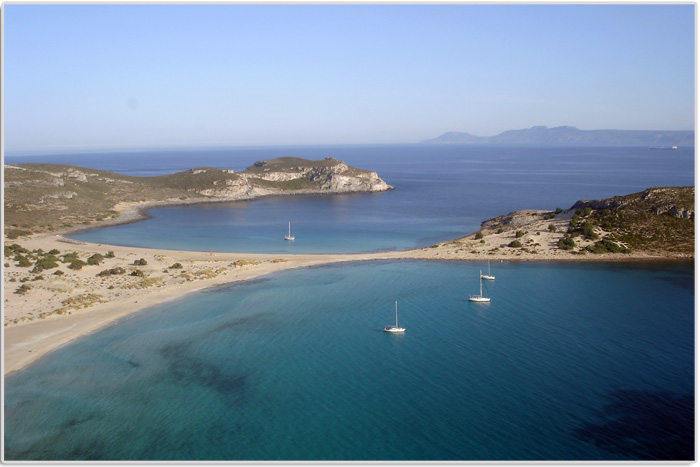 Sailing holidays in Elafonisos