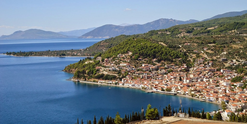 Sailing holidays in Evia