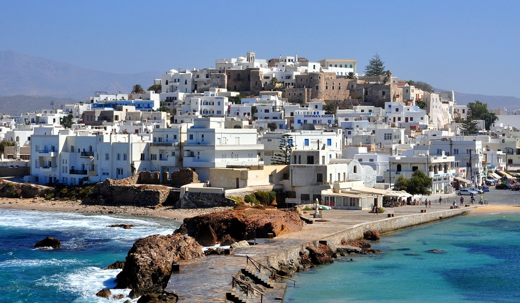 Sailing holidays in Naxos