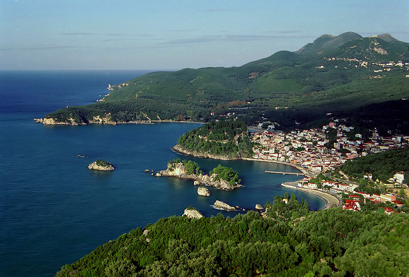 Sailing holidays in Parga