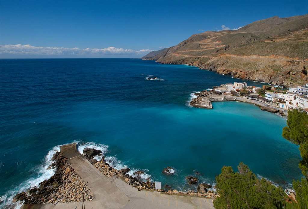 Sailing holidays in Sfakia