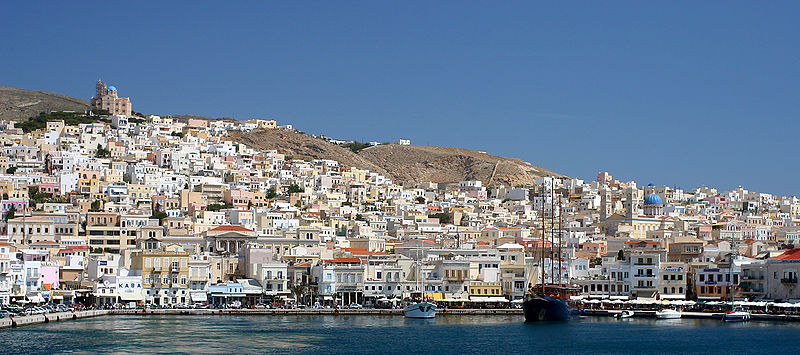 Sailing holidays in Syros
