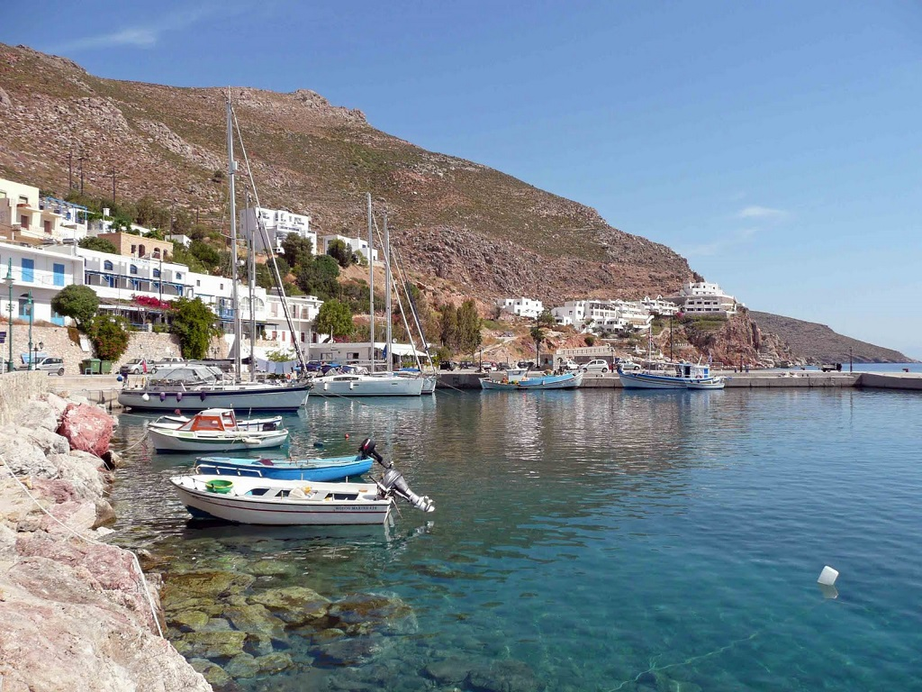 Sailing holidays in Tilos