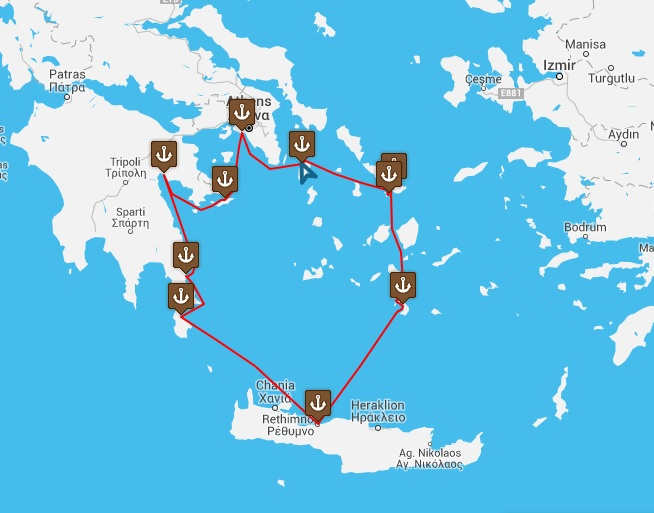 Classical Greece Route