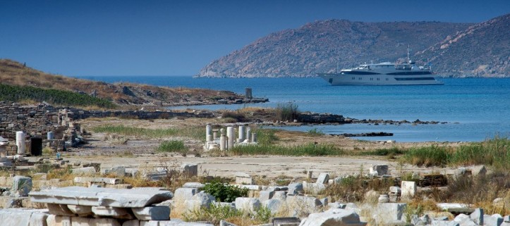 Classical Greece on the M/Y Harmony G