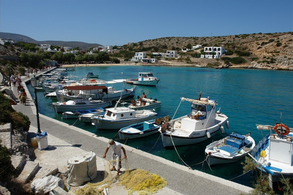 Agios Georgios Harbor