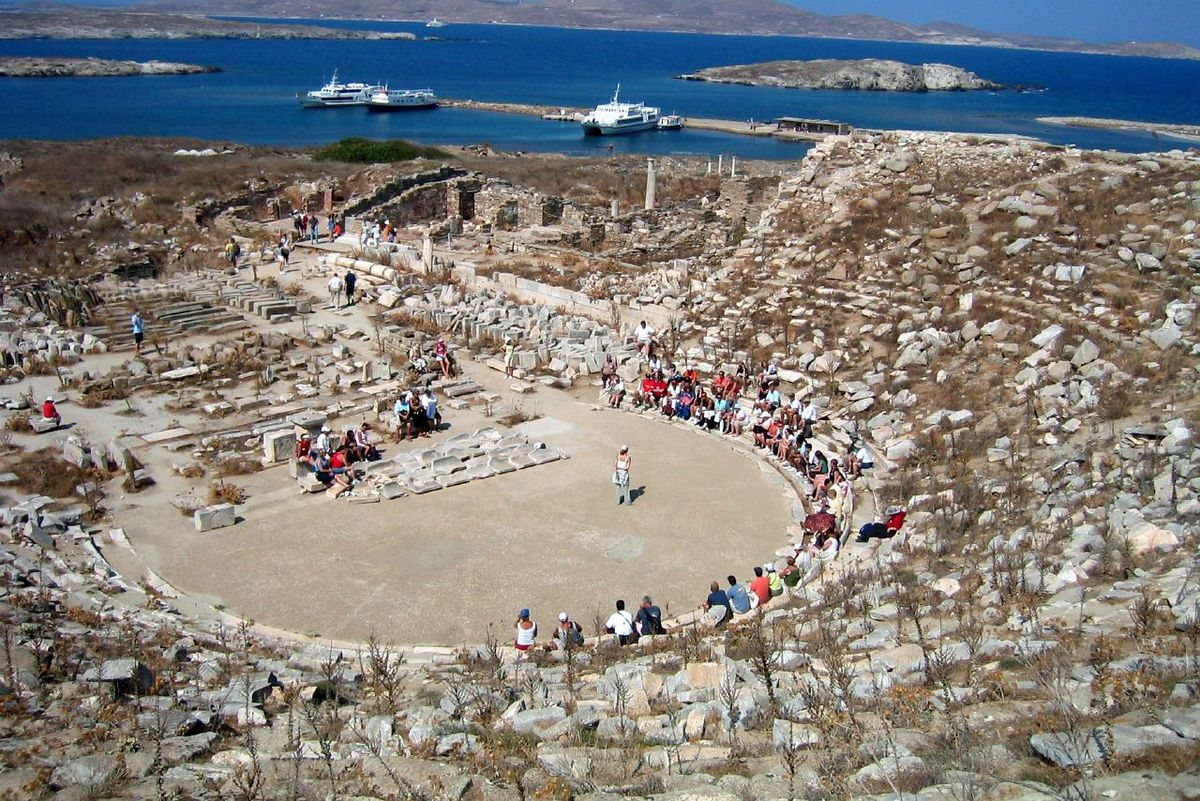 Delos Theater