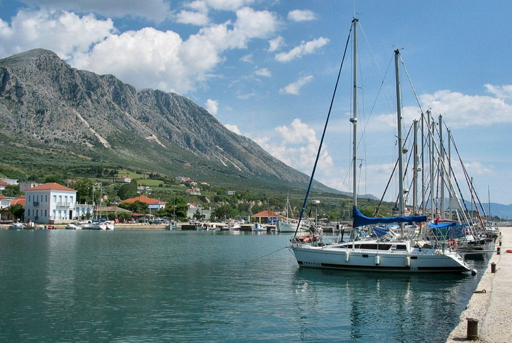 Palairos Harbor