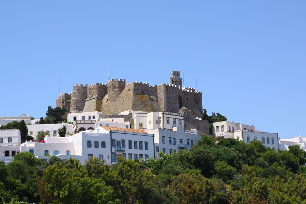 Patmos, The monastery of St. John the Theologian