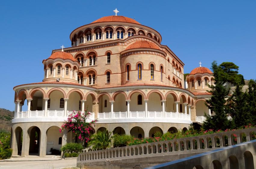 Aigina, Staint Nektarios Church