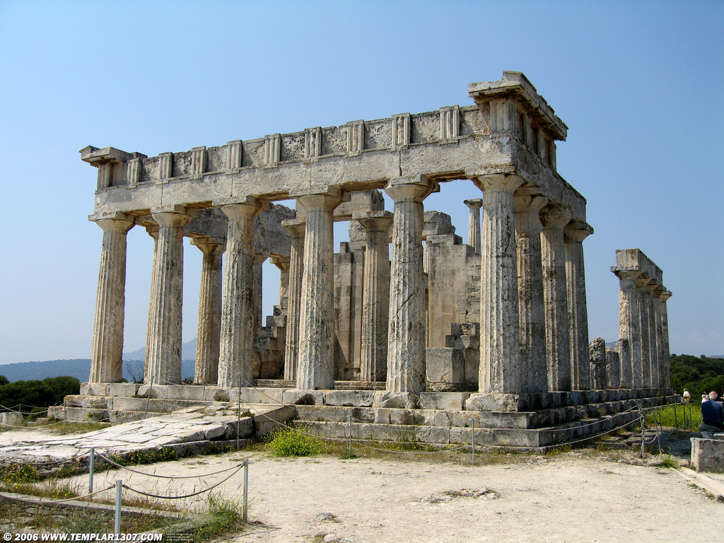 Aigina, The Temple of Aphaia