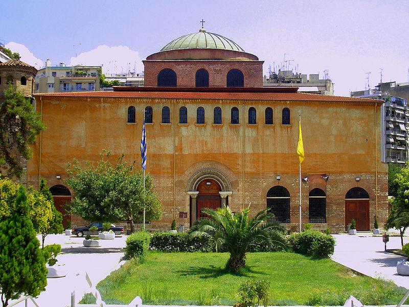 Hagia Sophia, Byzantine Thessaloniki