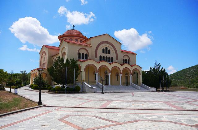 Kefalonia, Monastery of Saint Gerasimos