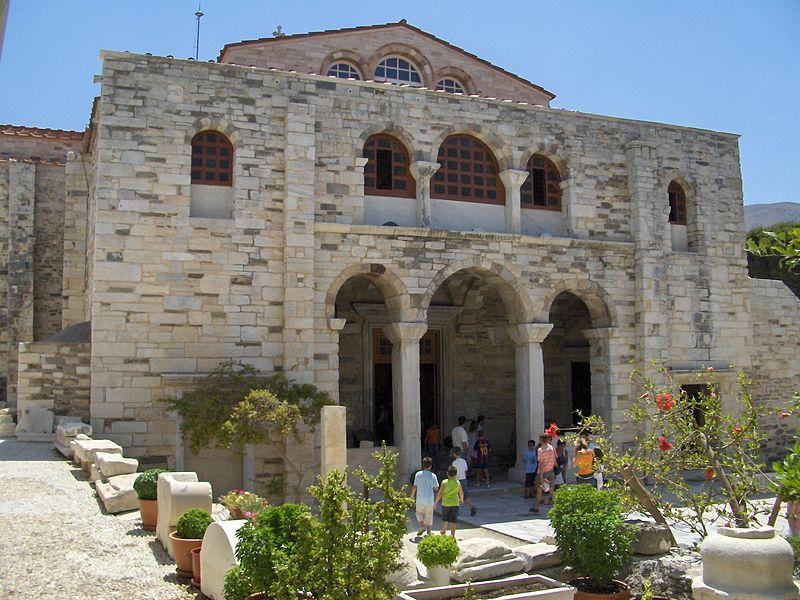 Paros, Church of Panagia Ekatontapiliani