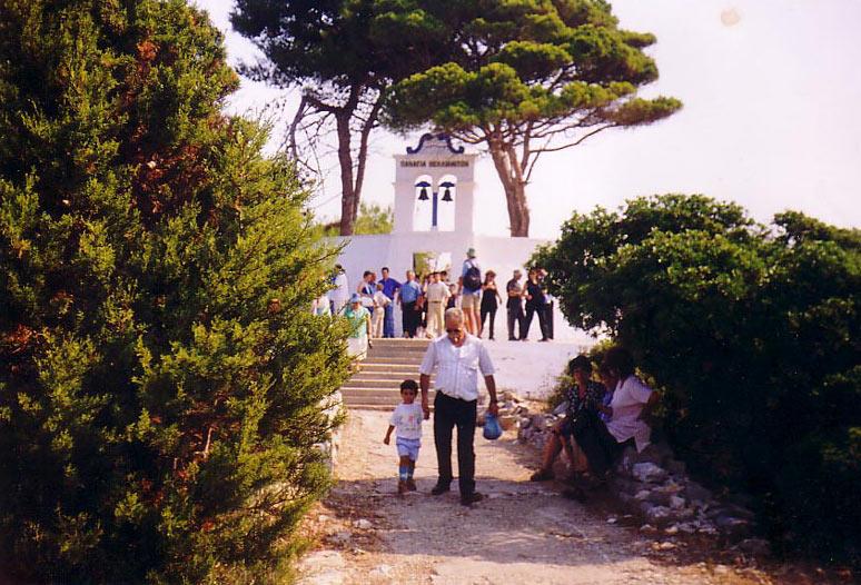 Paxos, Monastery of Panagia