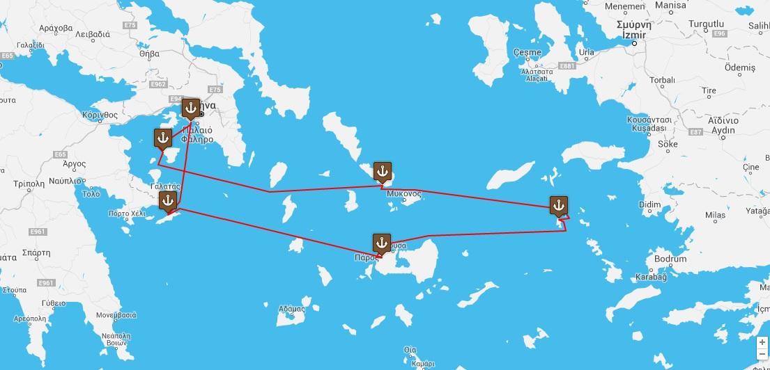 Sacred Aegean Islands Cruise