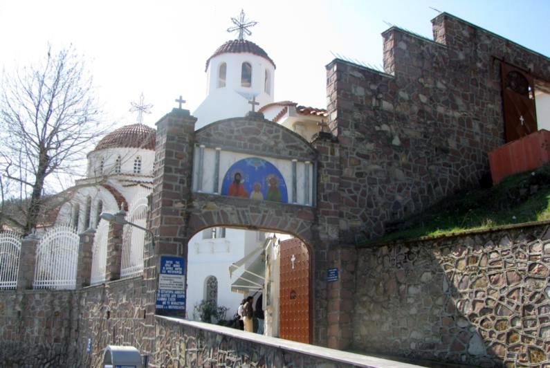 Monastery of Agios Raphael, Lesvos