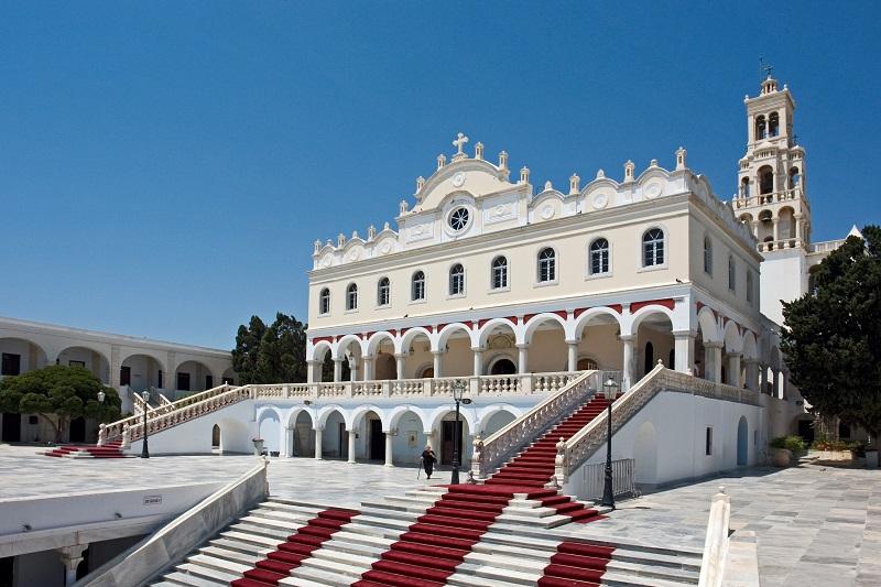 Evangelistria Church, Tinos